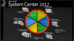 System Center Virtual Machine Manager 2012