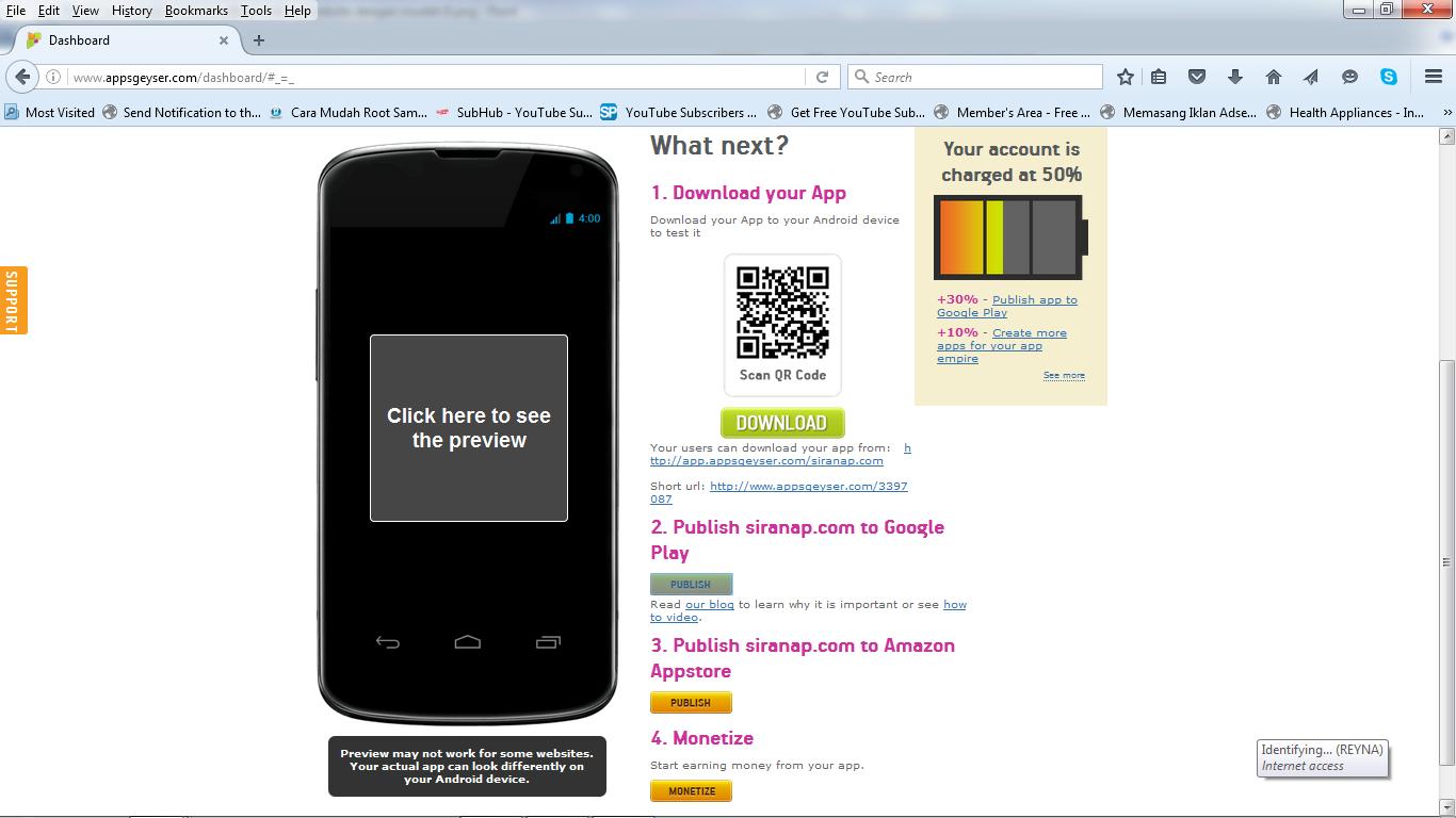 cara membuat aplikasi android website dengan mudah